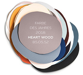 cf18 colour futures 2018 - heart wood