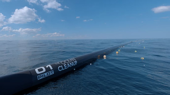 ocean cleanup barriere