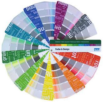 herbol profi-circle farbfaecher farbe design